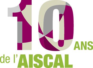 Infographiste Rouen Pascal Ridel - logo - Dépliant invitation - AISCAL 10 ans