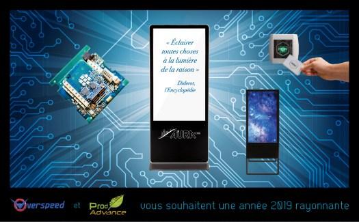 Infographiste Rouen Pascal Ridel - carte de voeux entreprise