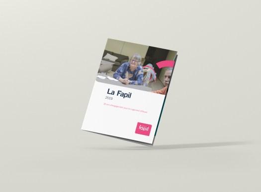 Infographiste Rouen Pascal Ridel - plaquette institutionnelle couverture