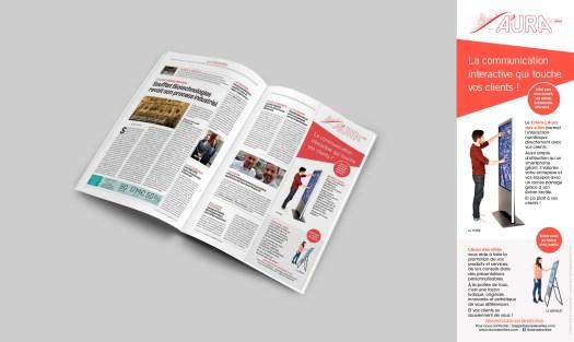 Infographiste Rouen Pascal Ridel - Encart publicitaire
