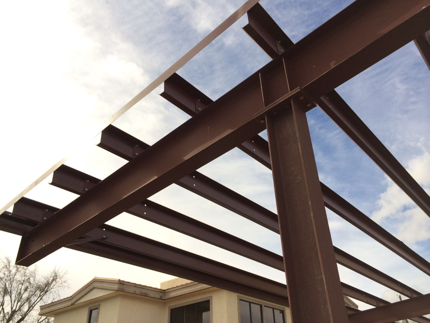 Solar CarportIdaho  Pascal Steel Buildings