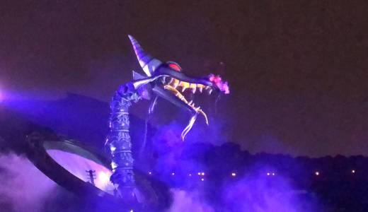 【iPhone X 撮って出し】東京ディズニーリゾートで夜のショー・パレードを撮影[ファンタズミック!編]