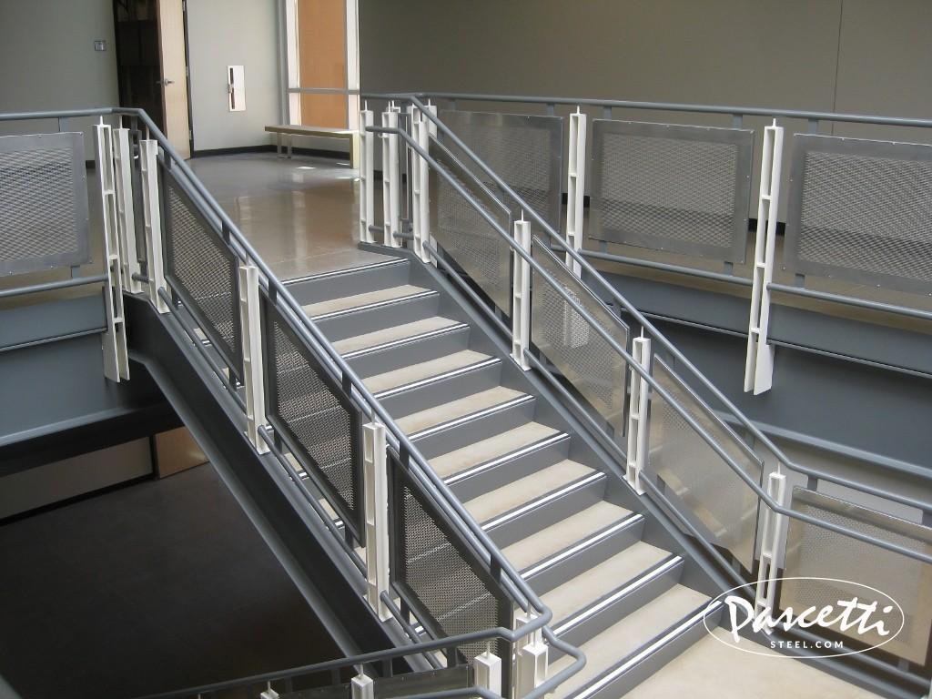 Perforated Panel Railings  Pascetti Steel Design Inc