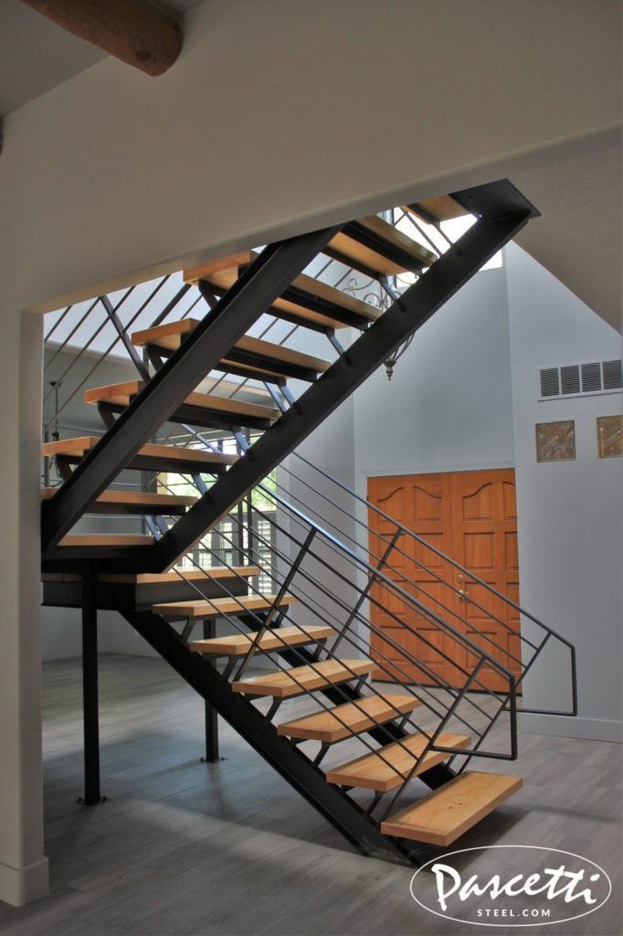 SelfSupporting Steel Stair Unit  Pascetti Steel Design Inc