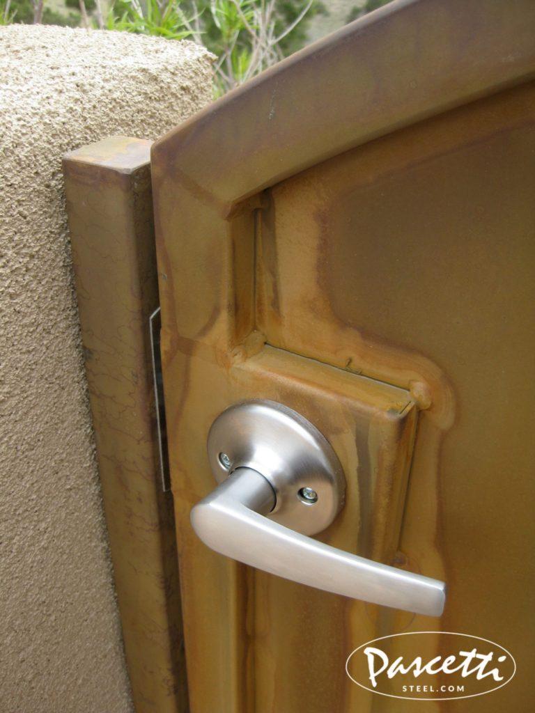 Double Lockbox Hardware  Pascetti Steel Design Inc