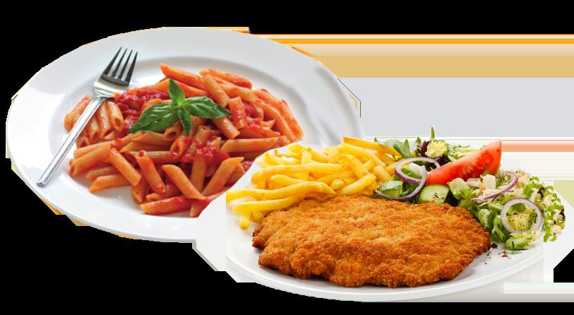 Pasta Spezialitäten & Schnitzel
