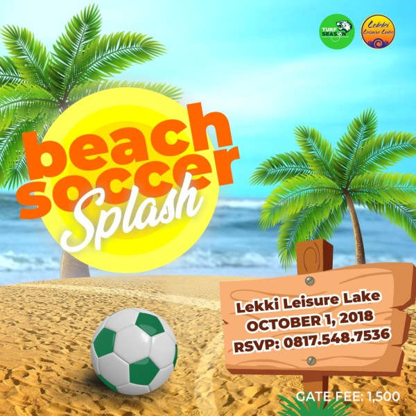 Independence Day Beach Soccer Splash
