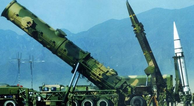 चीनद्वारा शक्तिशाली मिसाइल परीक्षण