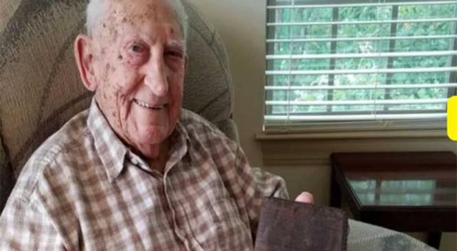 दोस्रो विश्वयुद्धमा हराएको यो पर्स ७७ वर्षपछि भेटियो
