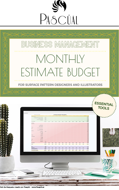 monthly budget estimate by Pascual