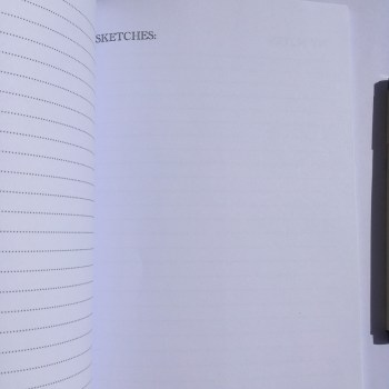 Notebook Interior Pages