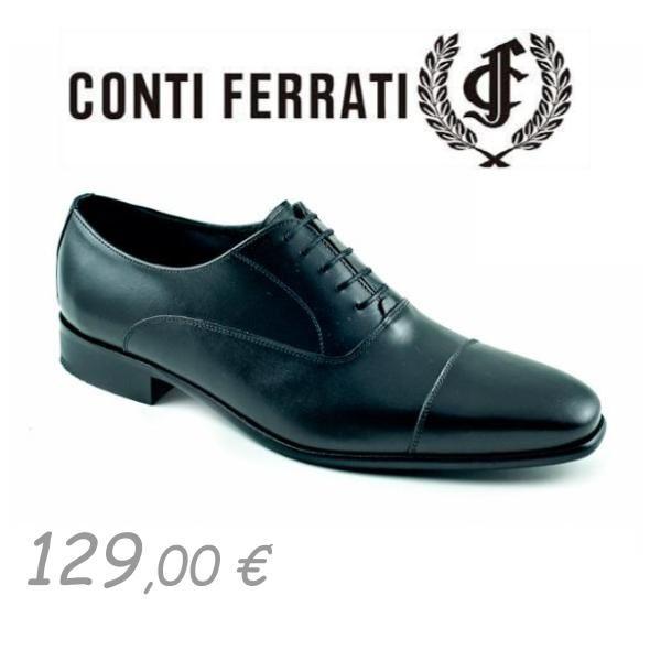 Zapato Novio 2020 de Conti Ferrati, Negro Zapatos 129 €