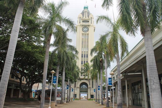Aloha Tower Honolulu Hawai