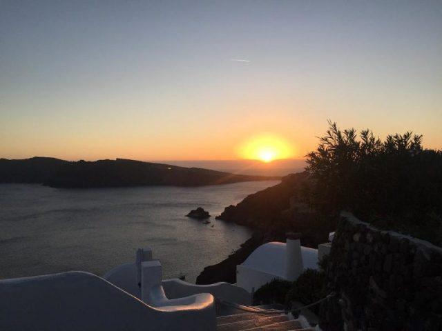 Atardecer Oia Santorini