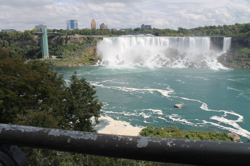 Cataratas del Niágara desde Canadá