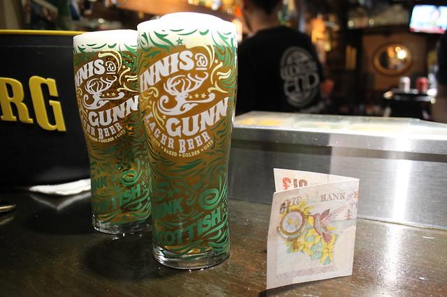 Cervezas World's End Edimburgo