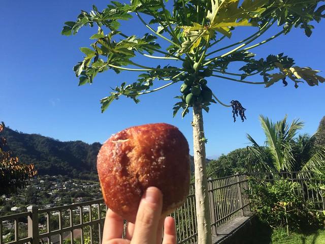 Comida hawaiana Malasadas