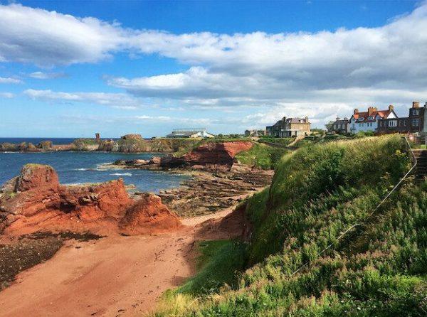 Excursiones desde Edimburgo Costa de Dunbar Escocia