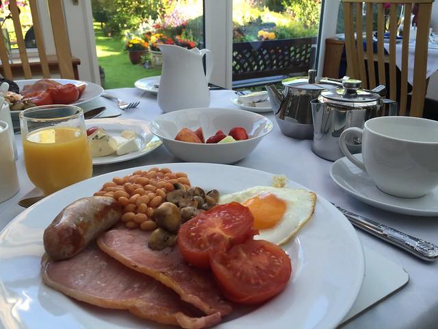 Desayuno St. Anns House Inverness