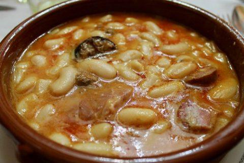 Fabada asturiana Sidrería Diego Madrid Restaurantes en Chamberí