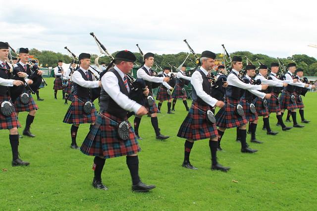 Gaiteros Highlands Games North Berwick Escocia