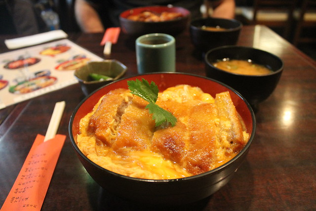 Comida japonesa Katsudon