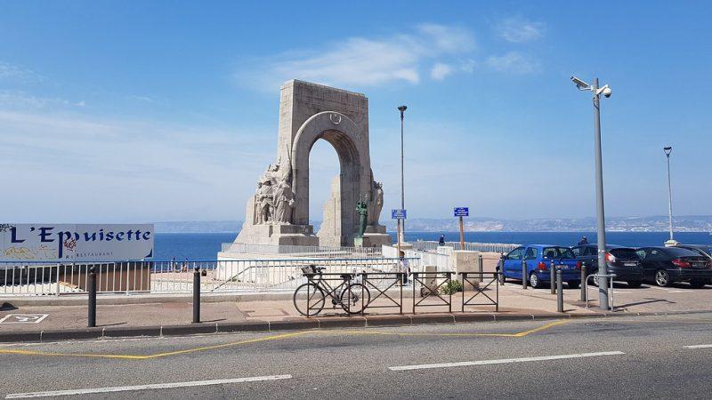 La Corniche Kennedy Marsella Francia