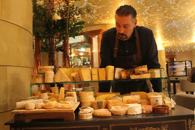 Mesa de quesos Fred Roterdam