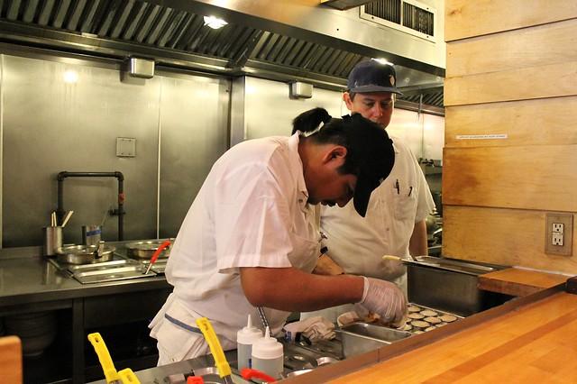 Momofuku Noodle Bar kitchen