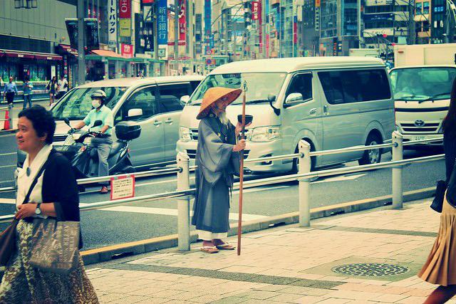 Monje Japon