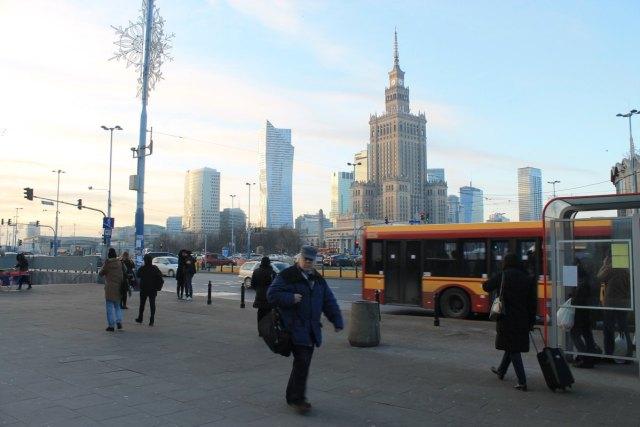 Palacio de la Cultura y la Ciencia Varsovia Polonia
