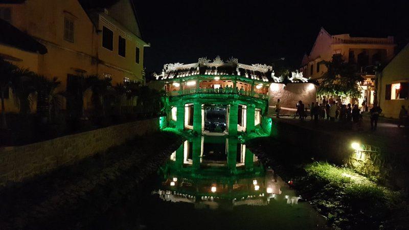 Puente cubierto japonés de Hoi An