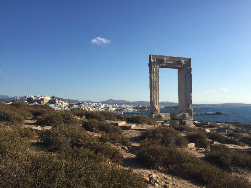 Puerta de Apolo Chora Naxos Grecia