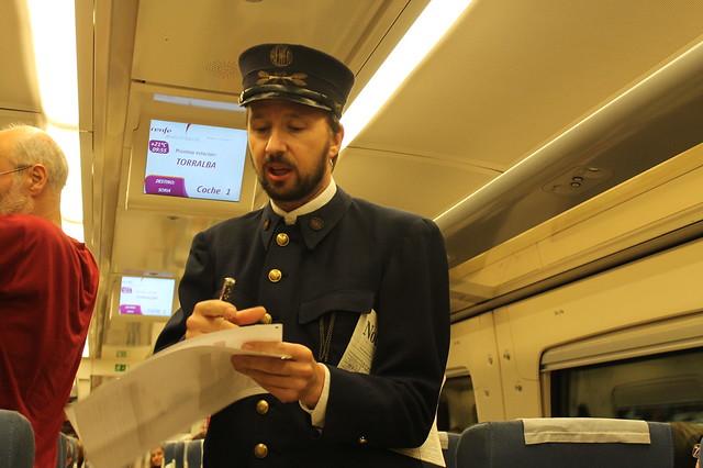Revisor Tren Campos de Castilla