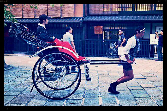 Rickshaw Kioto