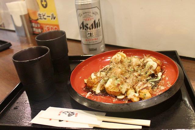Comida japonesa Takoyaki