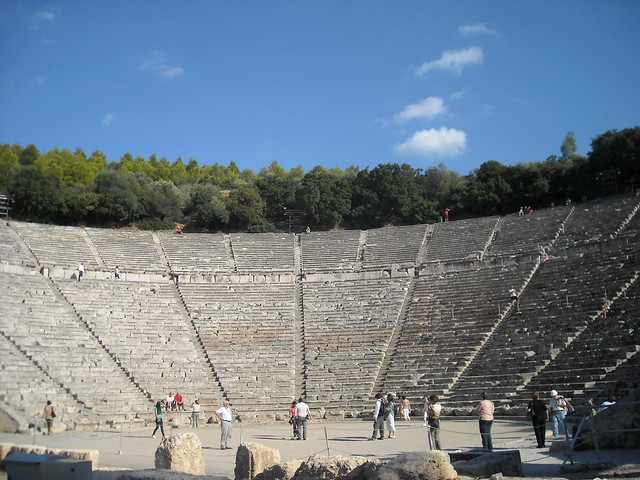 Teatro de Epidauro Grecia