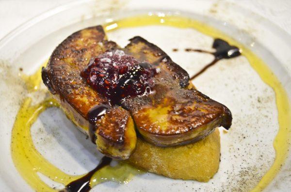 Tostada de foie Donde Siempre El Tubo Zaragoza