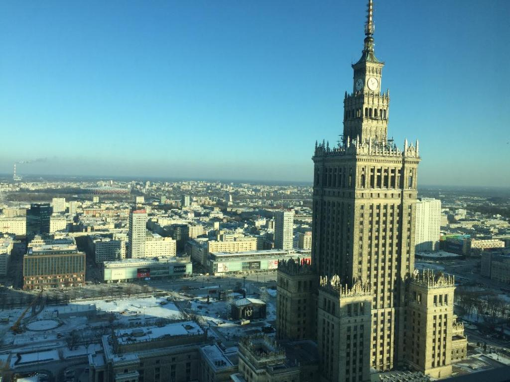 Vistas desde Intercontinental Varsovia