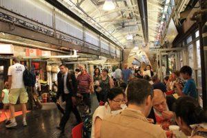 Zona comidas Chelsea Market