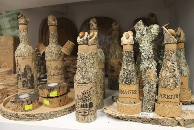 Aceiteras corcho Evora Portugal