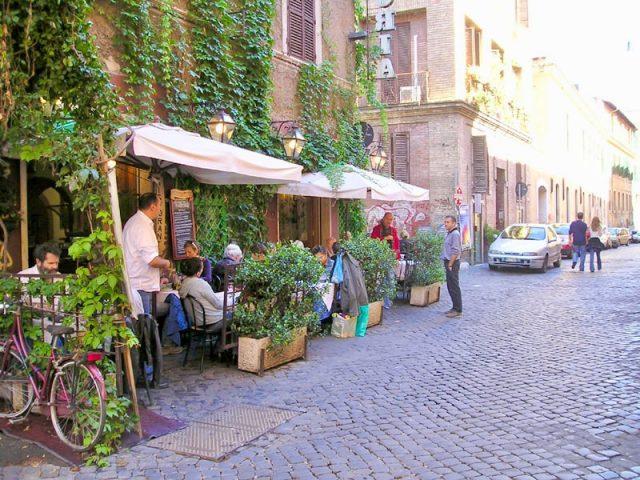 Alle Fratte di Trastevere Roma Terraza