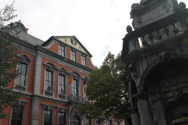 Ayuntamiento Lieja Belgica