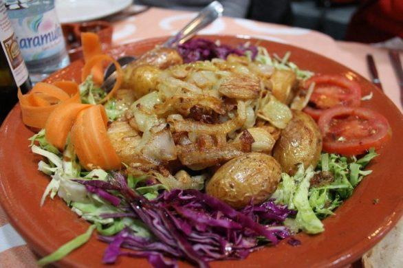 Bacalao de la casa Restaurante Sem-Fim Monsaraz Portugal