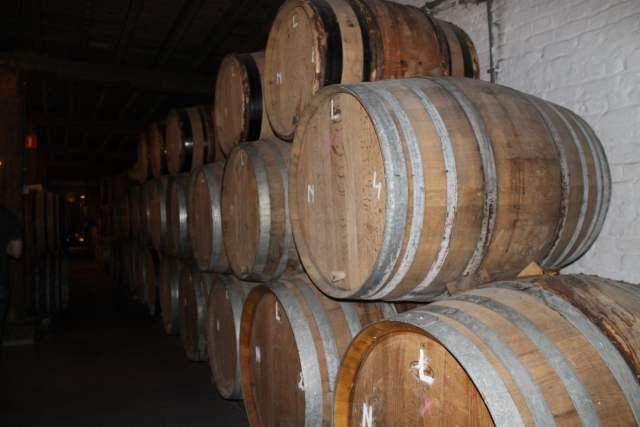 Barricas cerveza belga