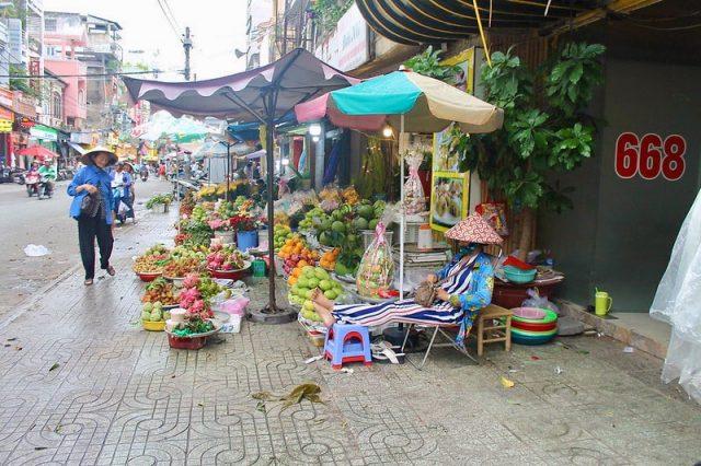 Barrio chino Ho Chi Minh Vietnam