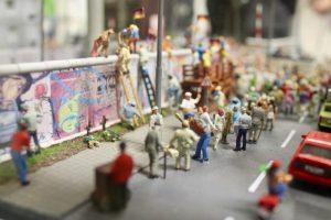 Caida Muro de Berlin Miniatur Wunderland
