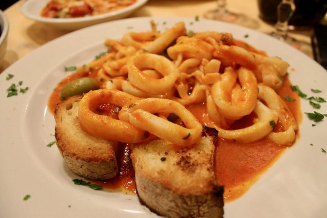 Calamari Gaeta Roma