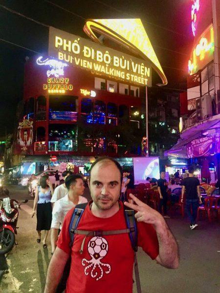 Calle Bui Vien Ho Chi Minh Vietnam