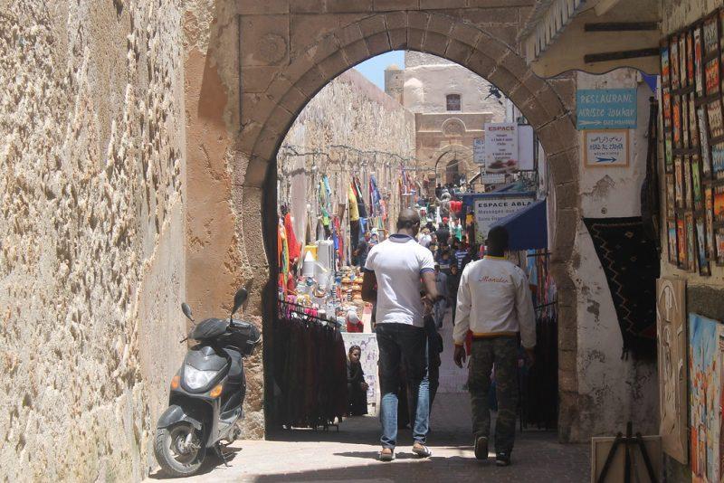 Calles Medina Essaouira